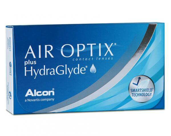 AirOptix plus Hydraglyde 6er