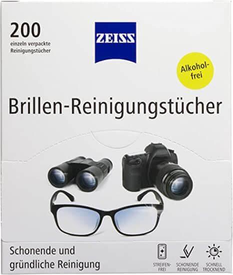 ZEISS Brillen-Reinigungstücher (200 Stk.)