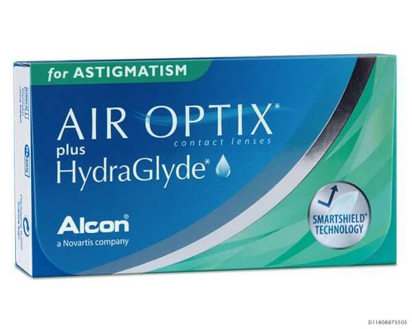 Air Optix plus Hydraglyde for Astigmatism 6er Box